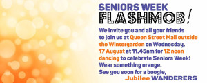 brisbane aged care flashmob event