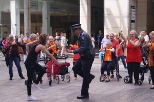 brisbane seniors flashmob